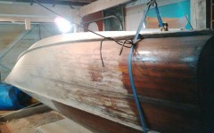 Striping the outer hull