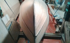 Outer hull striped